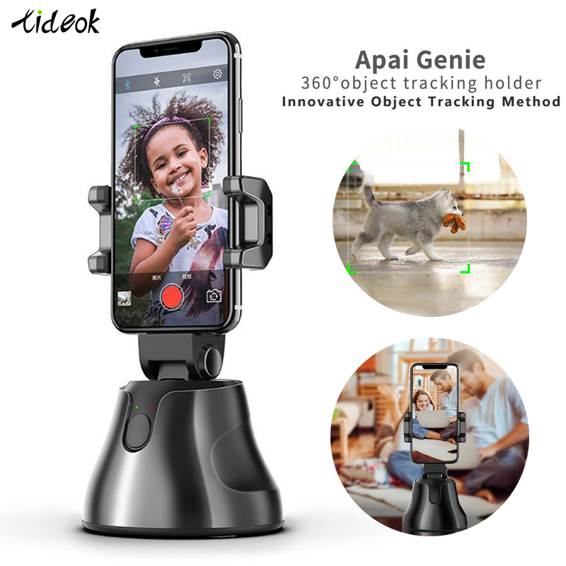 US $40.16 10% OFF|Smart Shooting Selfie Stick Smartphone Gimbal Vlog Camera Phone Stand Recognition Face Tracking Object Follow Up 360 ° Portable|  - AliExpress