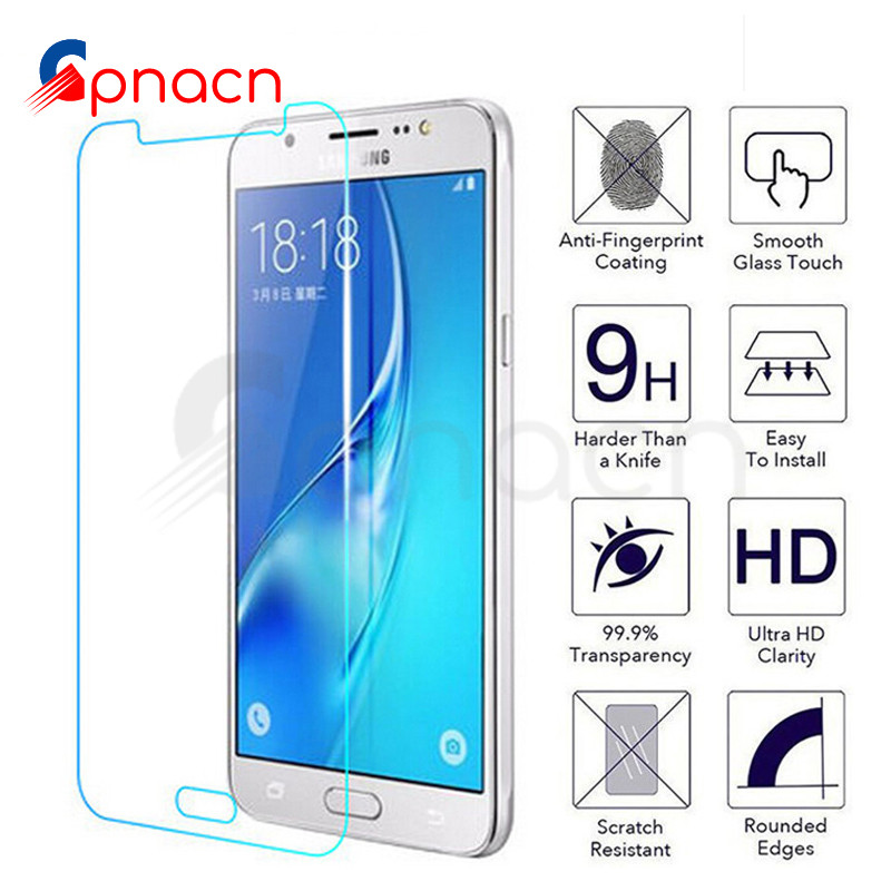 9H Protective Glass For Samsung Galaxy J3 J5 J7 2015 2016 2017 J2 J8 J4 J6 Plus 2018 Tempered Screen Protector Glass Film Case