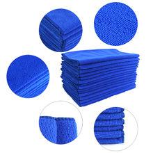10 шт 25x25 см пылесборник из микрофибры для чистки автомобиля