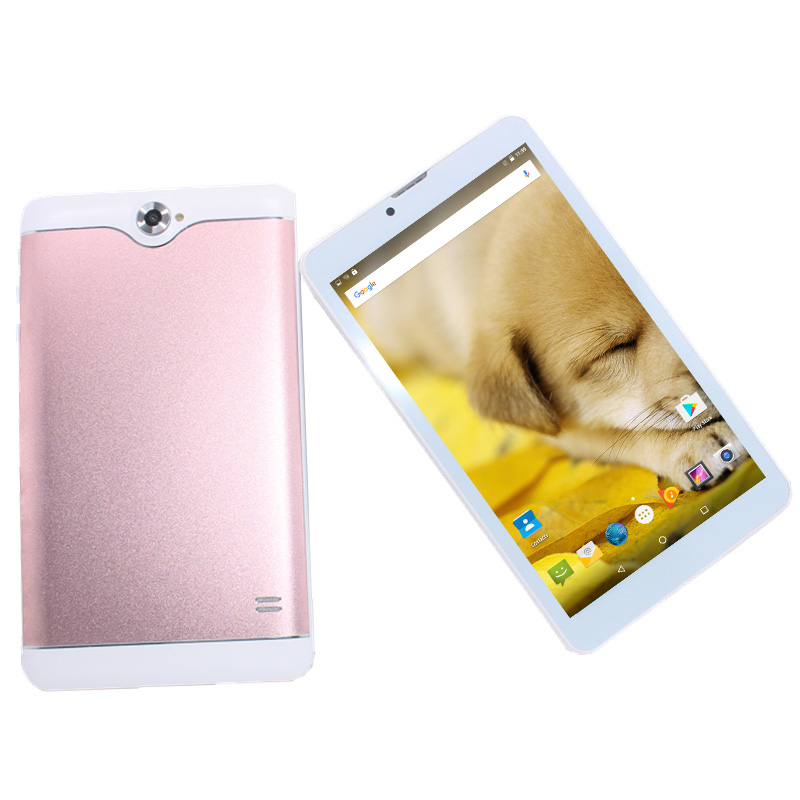 2019 New Arrival 7inch MTK8321 Phone Call  Andriod 6.0 1GB DDR3 +16GB DualSimCards With  Earphone