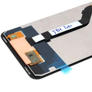Image 5 - شاشة جديدة 2018 لشاومي بوكوفون F1 شاشة عرض LCD تعمل باللمس محول الأرقام الجمعية مع الإطار لشاشة شاومي بوكو F1 LCD