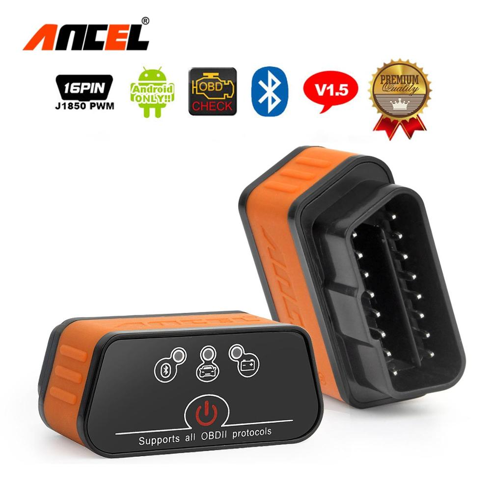 Ancel icar2 OBD2 ELM327 V1 5 Android Bluetooth Adapter Automotive Scanner Car Diagnostic Tool Car Error Innrech Market.com