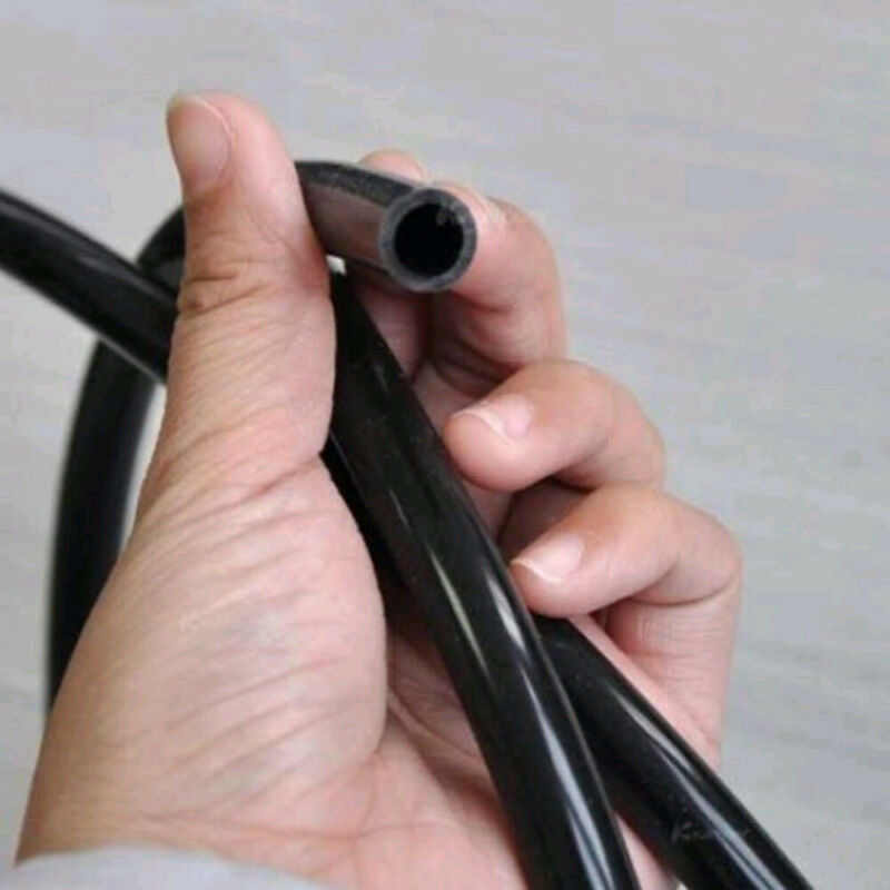أسود سيارة دراجة نارية أنبوب وقود النفط البنزين خط الغاز الأنابيب أنابيب 6 مللي متر ID 8 مللي متر OD ل يعمل بالديزل والجازولين خطوط الإنتاج أنبوب وقود