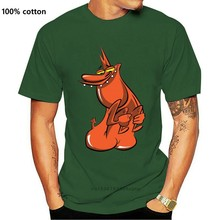 Cow And Chicken Character Red Guy Men's (woman's Available) T Shirt Black Brand Clothing Tee Tshirt