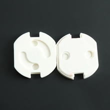 12Pcs Power Socket Protection Covers Self-adhesive Baby Child Safety Lock 97BD