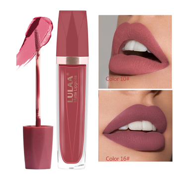 Matte Lipgloss Sexy Lip Gloss Matte Long Lasting Waterproof Cosmetic Beauty lipgloss Moisturizing Non-stick Cup Lip Makeup 1