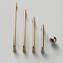 Gold /zinc Alloy Handle And Knobs Cupboard Pulls Drawer Knobs Kitchen Cabinet Handles Furniture Handle Hardware 5pcs cabinet handles aluminum kitchen cupboard pulls drawer knobs furniture bedroom door long handle hardware 23 03 39 37