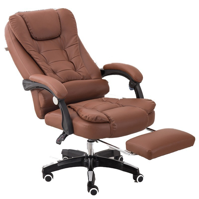 Luxury Quality Home Rest Office Poltrona Gaming Chair Ergonomics Synthetic Leather With Footrest Wheel Household Silla Gamer
