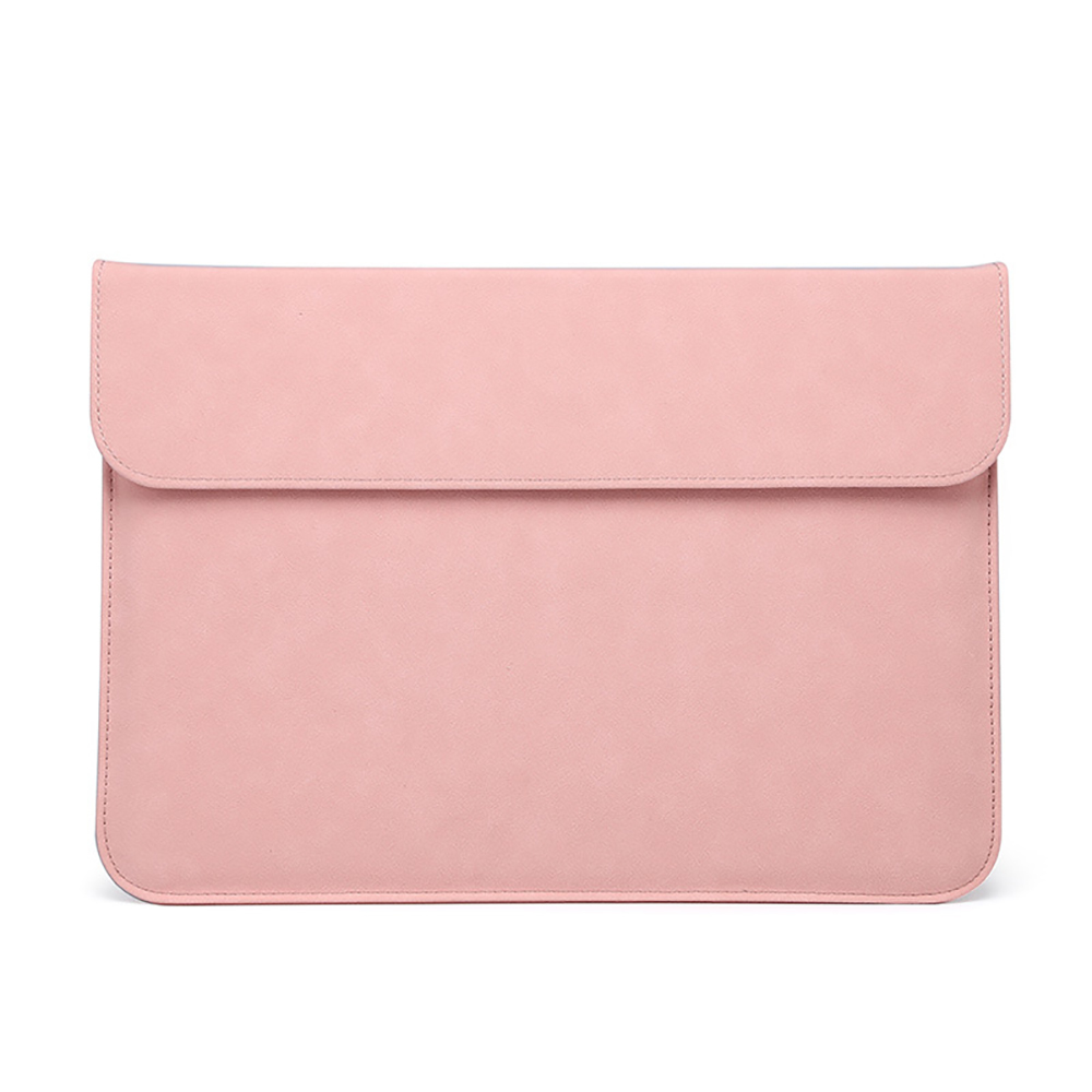 For MacBook Pro 16 Inch 2019 Laptop Sleeve Cover Slim Soft PU Leather Protective Case Anti-Scratch Waterproof Notebook Bags
