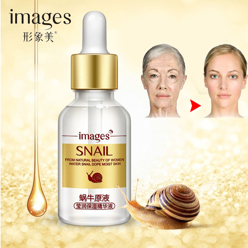 IMAGES Face Lifting Essence Skin Care Anti Aging Wonder Charm Ageless Liquid Anti Wrinkle Serum Youth Snail Cream Gel