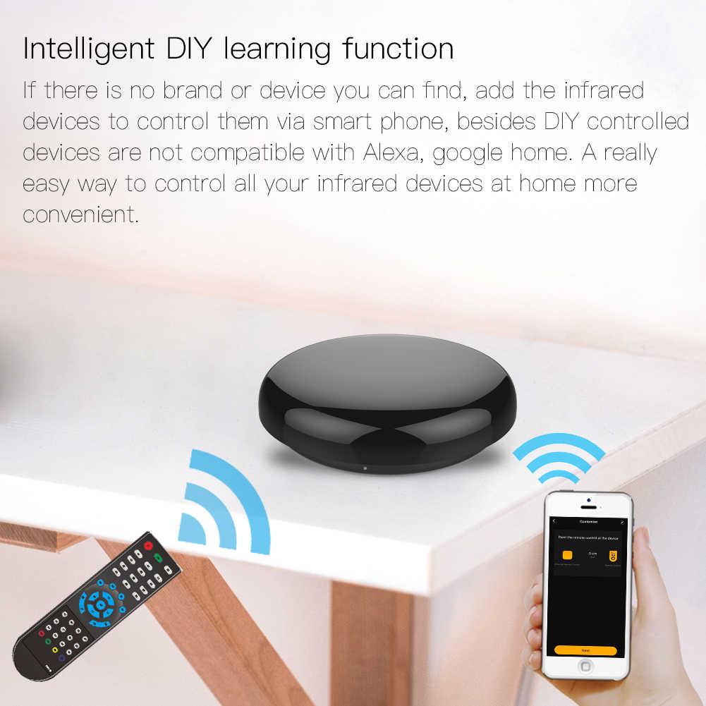الذكية الأشعة تحت الحمراء للتحكم عن بعد الأشعة تحت الحمراء العالمي الحياة الذكية APP التحكم واحد لجميع التحكم التلفزيون DVD AUD يعمل مع أليكسا جوجل المنزل