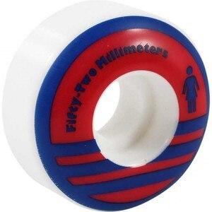 Image 1 - USA MARKE 4 teile/satz Skate Bord Räder 51 55mm PU Skateboard Räder Patins Adulto Rodas Professionelle skateboard rad