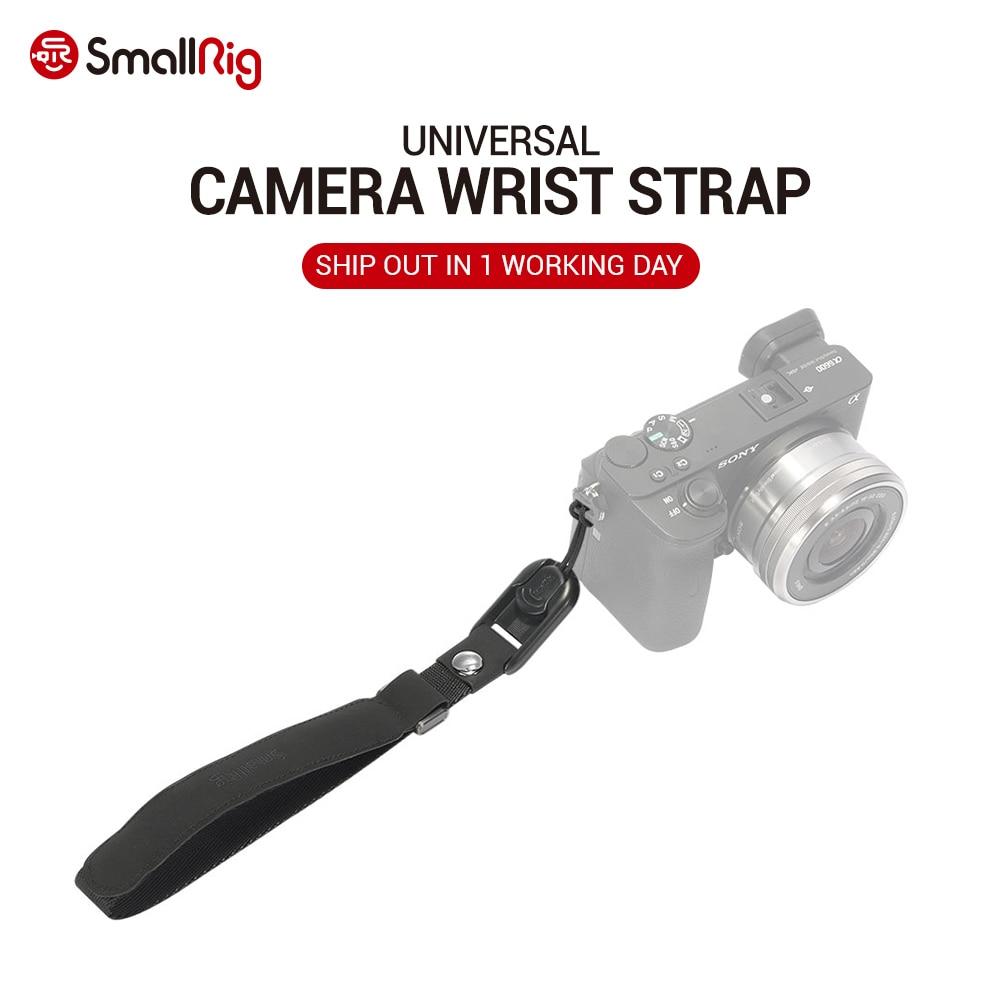 SmallRig Quick Release Durable Universal Camera Wrist Strap for Sony Camera for Canon Camera for panasonic Camera etc  2398