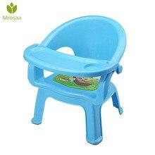 Детский обеденный стул с тарелкой, детский стол для еды, детский стул, обеденный стол, задний звонок, детский пластиковый стул