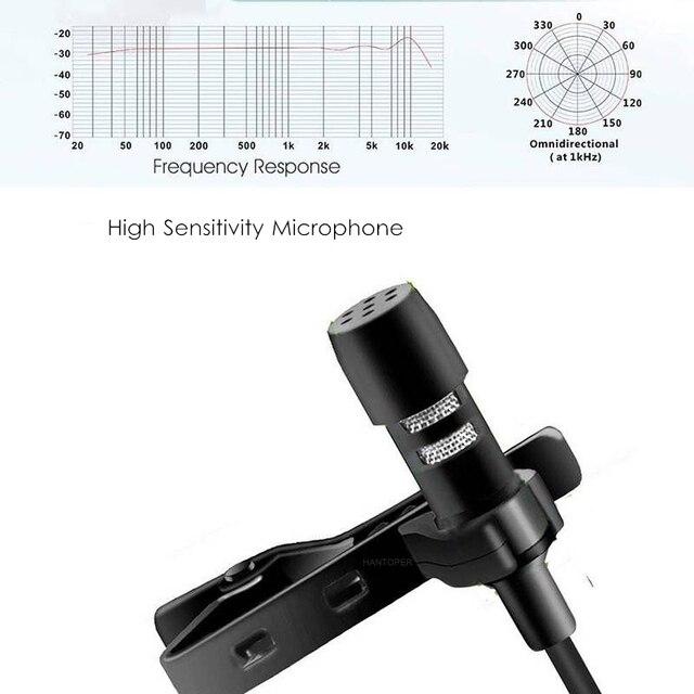 1.5m mini portable lavalier microp