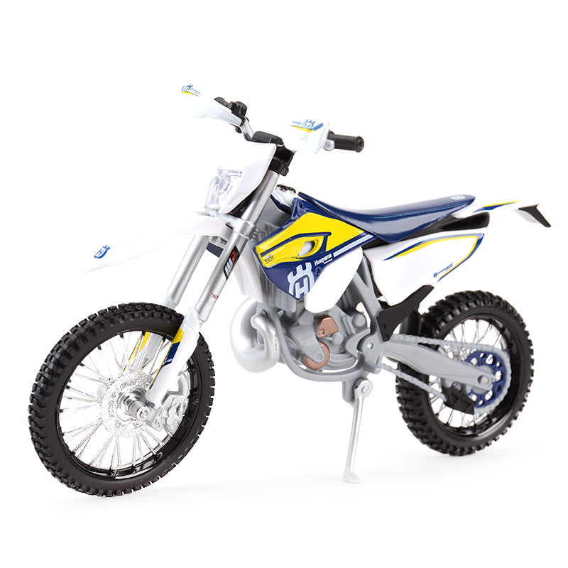 Maisto 1:12 Husqvarna FE 501 Diecast Alloy Motorcycle Model Toy