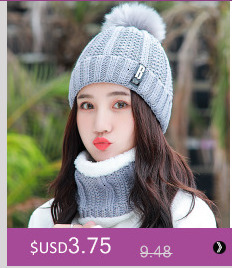 Simple girl Casual Cotton Acrylic Rushed New Fashion Female Winter wool Hats Hand Coarse Knitted Hat For Women Beanies 17