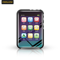 Fanlynk Neueste Bluetooth MP3 MP4 Mit Hoher Auflösung Und Volle Touchscreen Gebaut-in Lautsprecher HiFi Verlustfreie Sound-Player