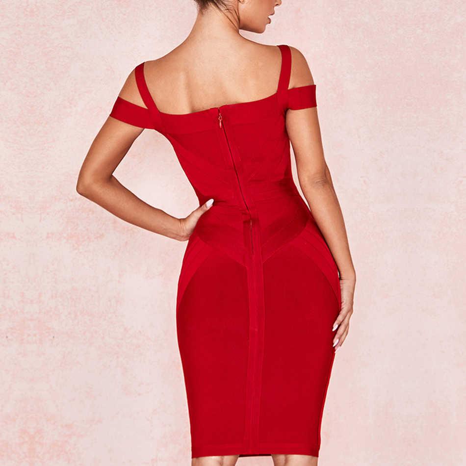 Новинка 2019, сексуальное женское платье для вечеринок, бодикон, на бретельках, с вырезом лодочкой, для ночного клуба, Vestidos