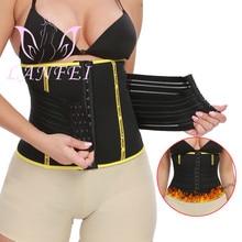 Slimming-Belt LANFEI Corset Shapewear Trimmer Sweating Waist-Trainer Sauna Fat-Burning