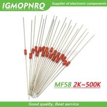 Thermal-Resistor 3950 20K 10K NTC Ohm 5K 500K 20pcs MF58 5%B