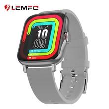 LEMFO GTS2 1,69 pulgadas pantalla Smartwatch hombres Bluetooth llamada DIY reloj cara GTS 2 reloj deportivo inteligente para Android a 20 días de espera