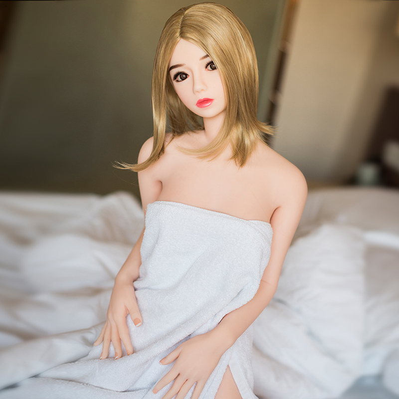 Sexy Reality <font><b>140</b></font> <font><b>cm</b></font> <font><b>Doll</b></font> Adult Big Breasts Mini Adult <font><b>Sex</b></font> Toy Male Masturbation Supplies TPE Metal Skeleton Material Real <font><b>Doll</b></font> image