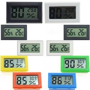 Mini Digital LCD Convenient Temperature Sensor Humidity Meter Indoor Hygrometer Portable