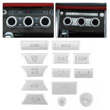 13pcs Air Conditioner Patch ปุ่ม Trim Fit สำหรับ Land Rover Discovery 5 Mouldings ภายใน 2017 2018 2019