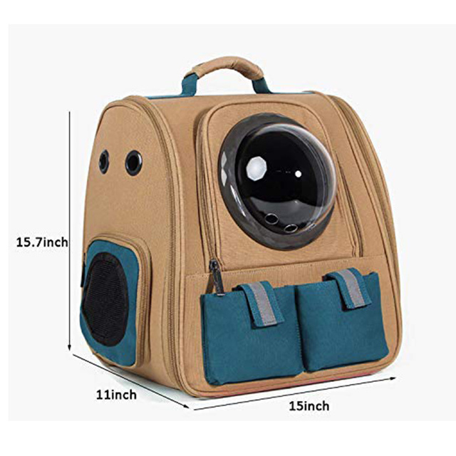 Pet Carrier Backpack Cat Bubble Capsule Sholder Bags Dog Carrier For Small Dogs and Puppies Airline-Approved Cats Carring Bags  My Pet World Store