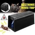 Электрическая мышка-ловушка для крыс, мышка-убийца, Электронная Мышка для грызунов, ловушка для гуманных грызунов, устройство для борьбы с вредителями - фото