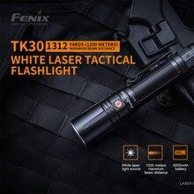 Fenix tk30 lanterna tática de alto desempenho max 500 lumens distância do feixe 1200 metros à prova dwaterproof água luz de busca com bateria
