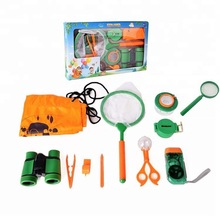 Outdoor Exploration Insect Net Adventure Insect Catching Kit Set Children Educational Science Optical Equipment