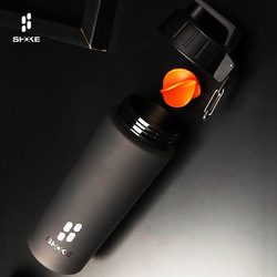 800ML Kettle Sport Naturehike Water Camping Canteen Nutrition Eco-Friendly Lid Hiking Bottles Shaker Cup Protein Powder Stirring