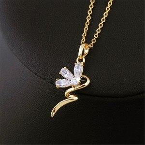 Женское колье-чокер золотистого цвета, модное ожерелье с кулоном и воротником-чокер