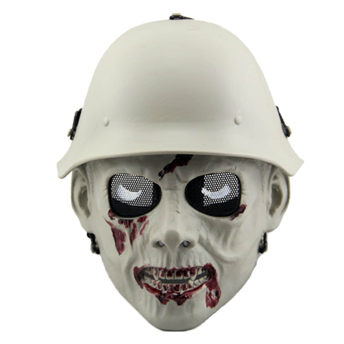 Outdoor Tactical Hunting Mask Adjustable Shock Resistance Protective Mask Military Field Zombie Mask For CS Halloween