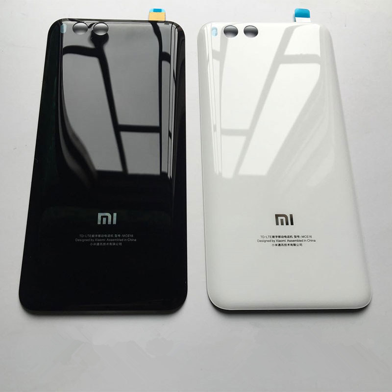 Original 3D Glass Rear Housing For XIAOMI MI 6 Battery Cover Back Door Replacement For Xiaomi MI6 Back Housing Battery Case