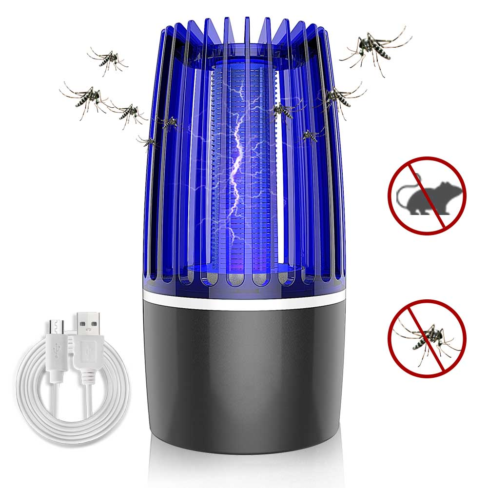 Mosquito Lamp Plug-in Type No Radiation Suitable for Indoor Places Such As Bedroom and Living Room Silent Suitable for Pregnant Women and Babies Electronic UV