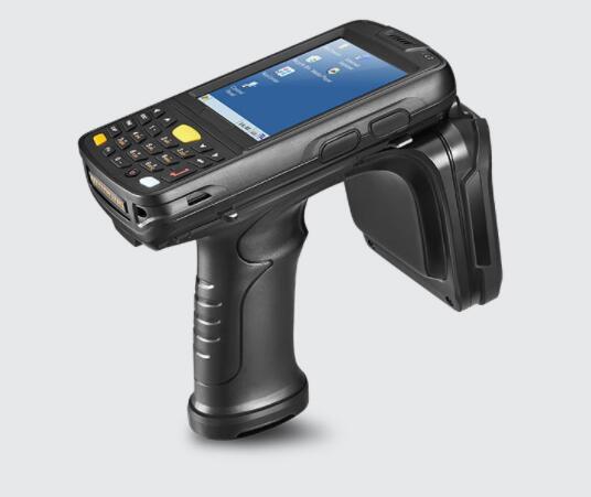 Windows Embedded CE 6.0 Long Range Portable UHF RFID Bluetooth Card Reader Handheld Uhf Rfid Reader Barcode Scanner
