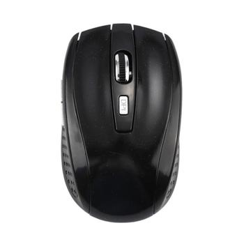 2.4GHz Wireless Cordless Optical Scroll Wheel 1600 Dpi Mouse Mice Ergonomic Mouse For PC Laptop Computer Hot In Sale - Black, France