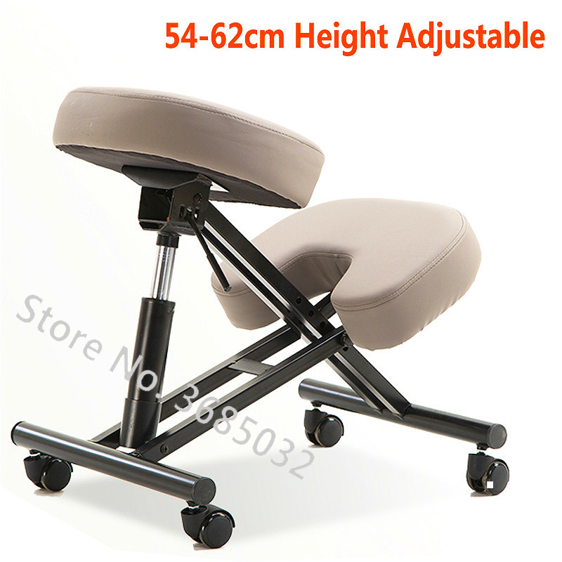 Designed Kneeling Chair Stools Height Adjustable  Multifunction Office Knee Chair Ergonomic Correct Posture Chair