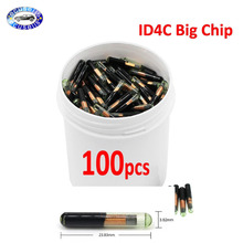 ID4C Big-Glass-Chip Ford Mazda Car-Key-Chip 100pcs/Lot After-Market Toyota