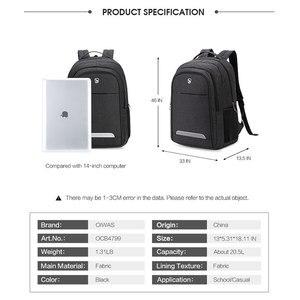 Image 4 - Oiwas водонепроницаемый большой мужской рюкзак, сумки для ноутбука, студенческий рюкзак для подростков, рюкзак для путешествий, школьный рюкзак для мужчин и женщин, мужской рюкзак