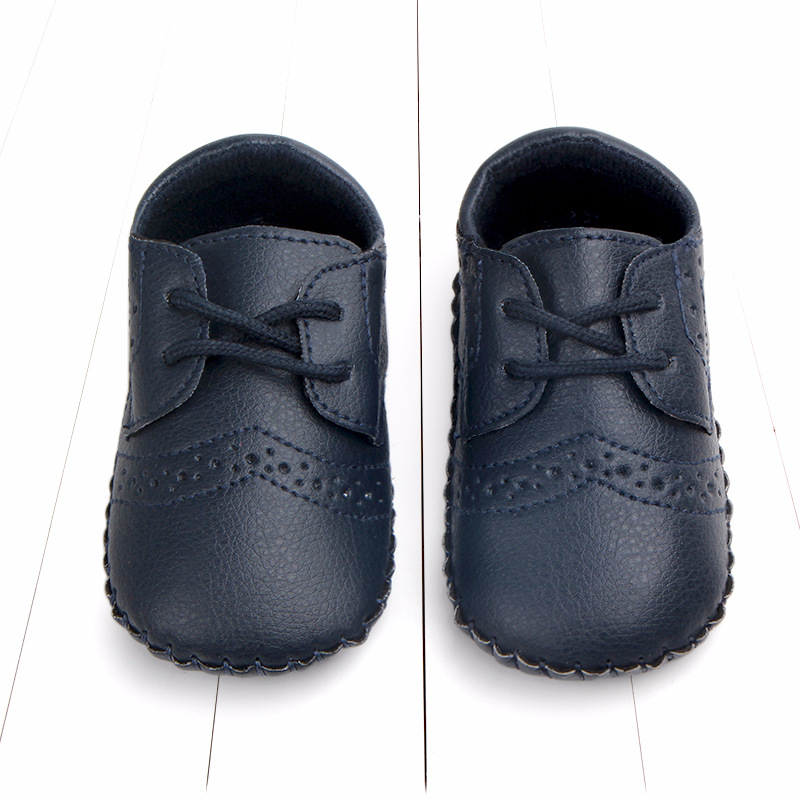 Baby Shoes Black Sneakers Rubber-Sole Infant Boy with for Outdoor White