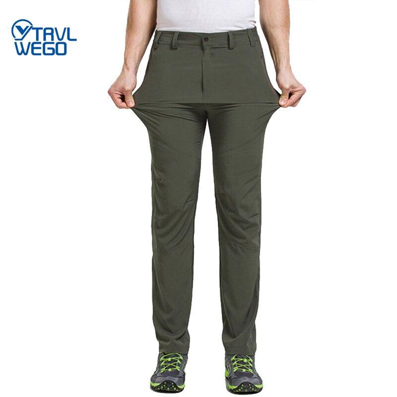 TRVLWEGO, быстросохнущие мужские брюки для активного отдыха, походов, походов, уличные, эластичные, Полиэстеровые, женские брюки на весну и лето