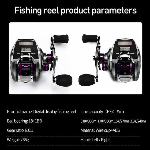 Electronic Fishing Reel Fishing Reels cb5feb1b7314637725a2e7: Display Fishing Reel