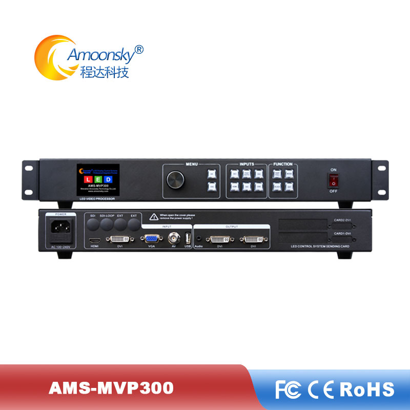 Led Video Controller MVP300 Support 1920*1080 Pixels LED Display Video Processor For Outdoor Advertising Led Display