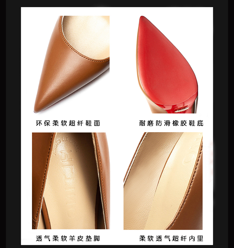 New Women Sexy pumps Red Bottom Shoes Spring Summer Ladies Fashion Stilettos Formal Party Woman Shoes High Heels for Wedding