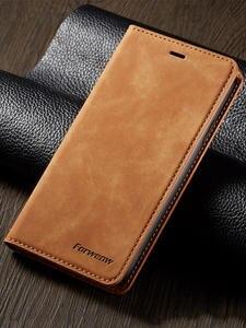 Роскошный Магнитный кожаный флип-чехол для телефона iPhone Xs Xr X R 11 12 Mini pro Max 8 7 6 6s Plus 5 S se 2020 Чехол-кошелек с держателем для карт