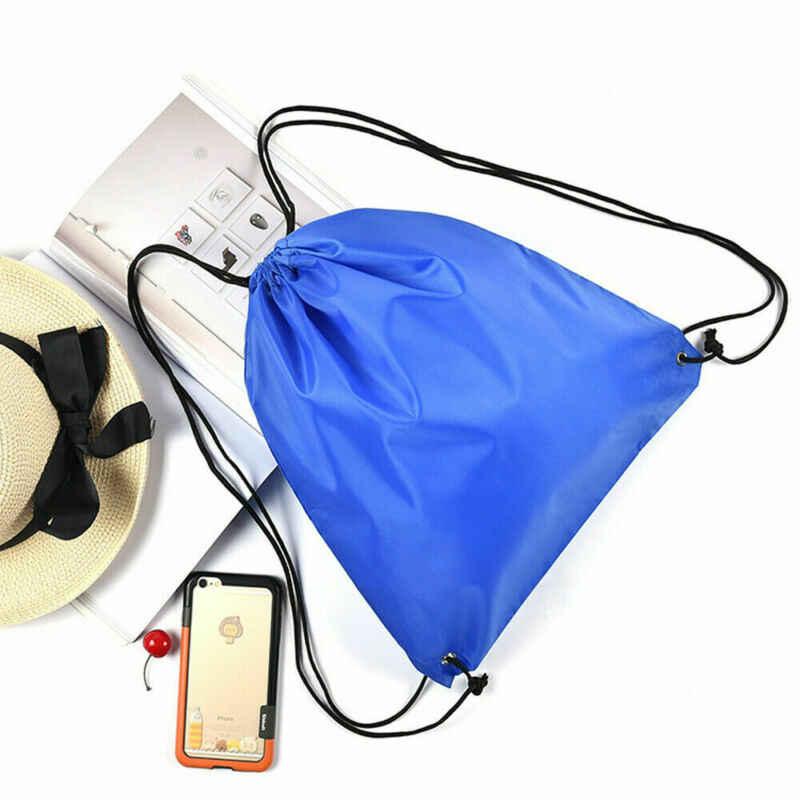 Tasje Sport Waterdichte Rugzak Bundel Pocket Custom Afdrukken Logo voor Mannen Vrouwen Studenten